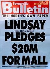 """Spin King"" Peter Lindsay is talking to Myer and David Jones 2008"